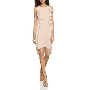 BCBGMAXAZRIA Nikole Asymmetrical Ruffle Dress